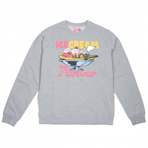 Ice Cream Men Moon Crew Sweater (gray / sweater)