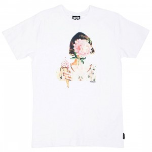 Ice Cream Men Face Tee (white)