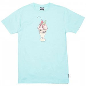 Ice Cream Men Concrete Tee (blue / aruba)