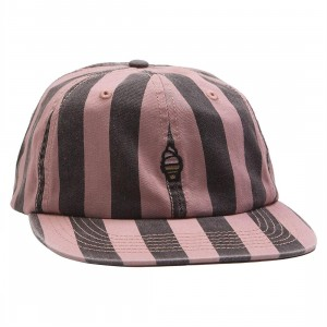 Ice Cream Dairy Adjustable Cap (pink / clay)