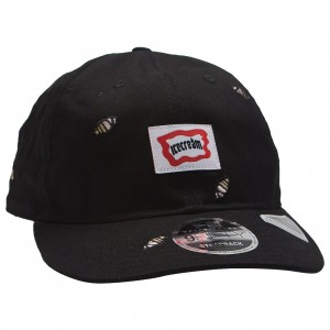 Ice Cream Scrap Adjustable Cap (black)