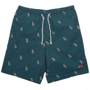 Ice Cream Men Birch Shorts (green / deep teal)