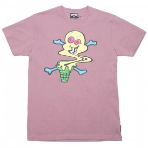 Ice Cream Men Swirl Tee (purple / grape shake)