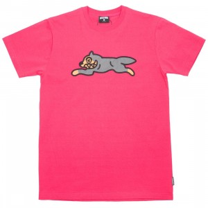 Ice Cream Men Grosso Knit Tee (pink / raspberry)