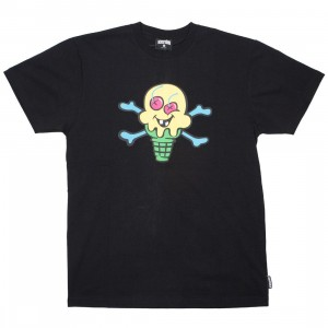 Ice Cream Men Cones And Bones Tee (black)