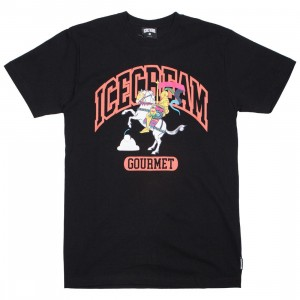 Ice Cream Men Collegiate Tee (black)