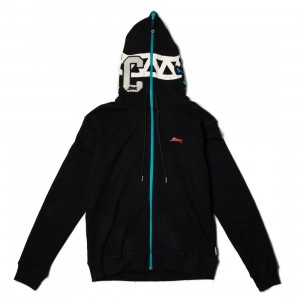 Ice Cream Men Block Head Hoody (black)