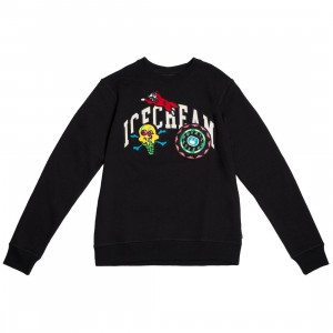 Ice Cream Men Cunningham Crew Sweater (black)