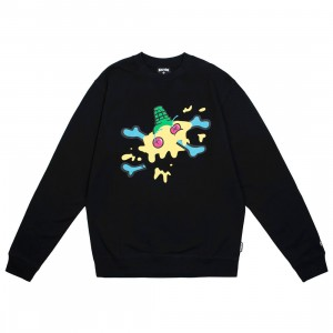 Ice Cream Men Vail Crew Sweater (black)
