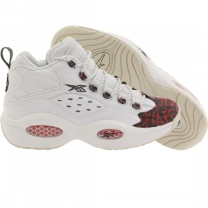 Reebok Men Question Mid Prototype (white / red / black)