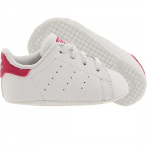 Adidas Toddlers Stan Smith (white / bold pink)