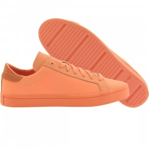 Adidas Men Court Vantage Adicolor (orange / sun glow)