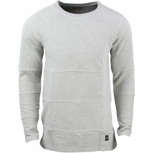 Akomplice Men Chop Crew Sweater (gray)