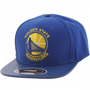 Pro Standard NBA Golden State Warriors City Team Logo Adjustable Cap (blue / royal)