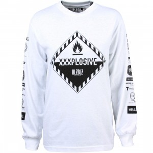 HLZBLZ Women XXXplosive Long Sleeve Tee (white)