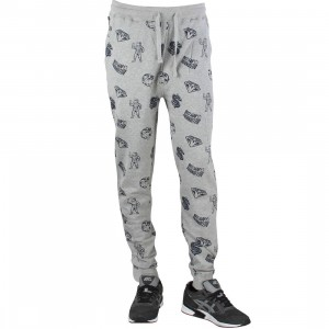 Billionaire Boys Club Men Coverage Sweat Pants (gray / heather)