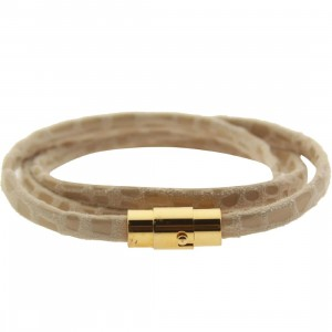 Mister Mr Trifecta Bracelet (sand / gold)