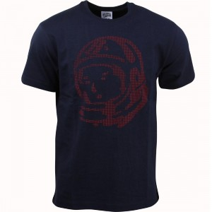 Billionaire Boys Club Men BB Helmet Knit Tee (navy)