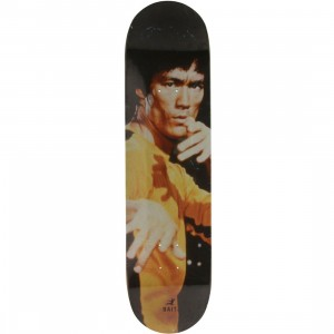 BAIT x Bruce Lee Yellow Jumpsuit Skateboard Deck (yellow)