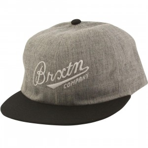Brixton Fenway Cap (gray / heather / black)