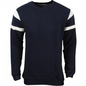 Akomplice Men Navy Epple Crew Sweater (navy)