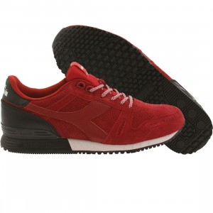 Diadora Men Titan Suede (red / chili pepper / black)