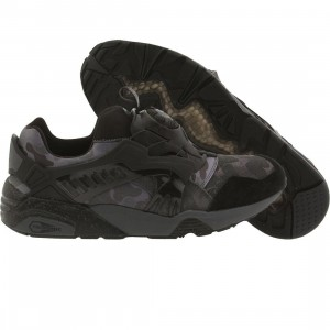 Puma x Bape Men DISC Blaze (black / forged iron)