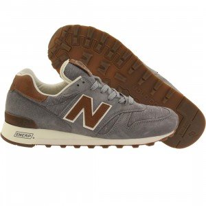 New Balance Men 1300 Explore by Sea M1300DAS Made In USA (gray / steel / brown)