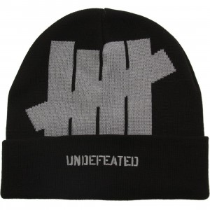 Undefeated 5 Strike Holiday 2015 Cuff Beanie (black)