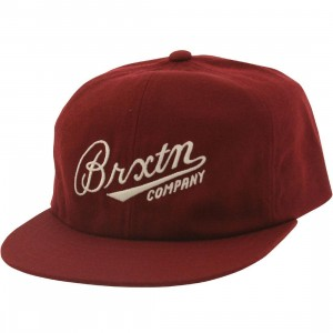 Brixton Fenway Cap (purple / burgundy)
