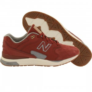 New Balance Men 1550 REVlite Suede ML1550AI (red / clay)