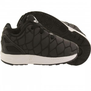 Adidas Toddlers ZX Flux Xenopeltis (black / core black / running white)