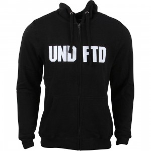 Undefeated Men Undefeated Tackle Zip Hoody (black)