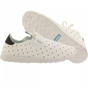 Native Men Apollo Moc Embroidered (white / shell white / polka)