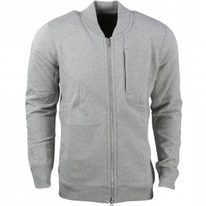 Asics Tiger x Reigning Champ Men Bomber Jacket (grey / heather grey)
