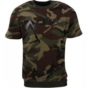 Acapulco Gold Men War Short Sleeve Crewneck Sweater (camo)