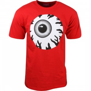 Mishka Men Monochrome Keep Watch Tee (red)