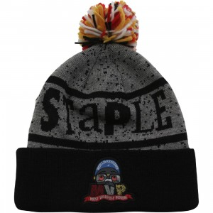 Staple MVP Beanie (black / gray)