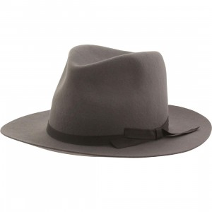 Brixton Manhattan Fedora Hat (gray / light)