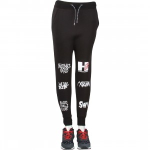 HLZBLZ Women Hlz TV Dropcrotch Sweat Pants (black)