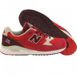 New Balance Men 530 Elite Edition Paper Lights M530RAA (red / chocolate cherry / oyster)