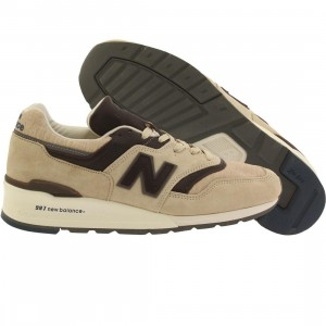 New Balance Men 997 Explore by Sea M997DSAI Made In USA (tan / brown)