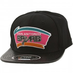 Pro Standard NBA San Antonio Spurs Team Logo Adjustable Cap (black)