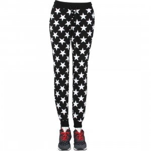 Married To The Mob Women Mob Star Jogger Sweat Pants (black)