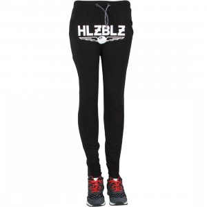 HLZBLZ Women All About It Dropcrotch Sweat Pants (black)