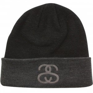Stussy Heather Beanie (black)