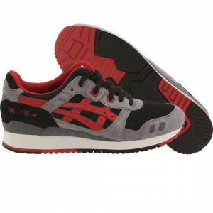 Asics Tiger Men Gel Lyte III (black / classic red)