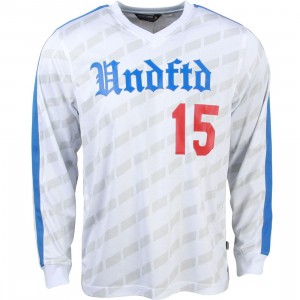 Undefeated Men Soccer Jersey (white)