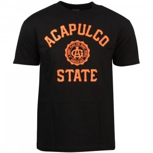 Acapulco Gold Men Acapulco State Tee (black)