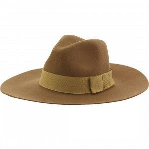 Brixton Piper Hat (brown / tan bronze)